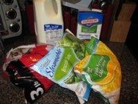 vegetarian potato corn chowder frozen ingredients