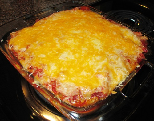 ready to eat baked spaghetti recipe