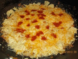 melt the cheese on your easy mexican casserole