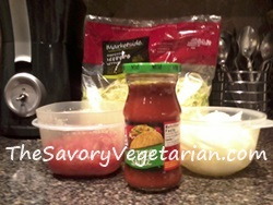 Ingredients for Mexican Pizza Recipe
