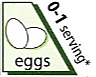 eggs from the vegetarian food pyramid