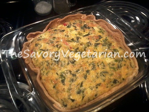 ready to eat vegetarian quiche recipe
