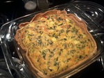 soft and fluffy vegetarian quiche recipe