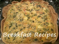 vegetarian breakfast recipe