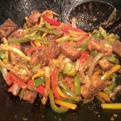 vegetarian tofu fajitas recipe