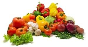 vegetarians eat fresh vegetables