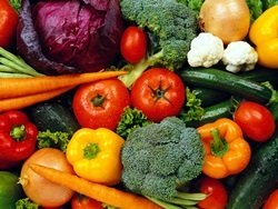 vegetables play a major role in a balanced vegetarian diet
