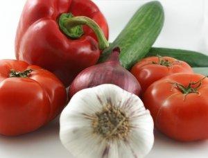 eat lots of veggies, especially dark green ones for iron