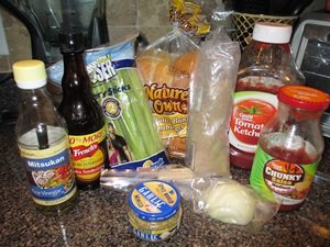 vegetarian barbecue sandwich ingredients