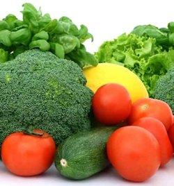 fresh ingredients for vegetarian recipes