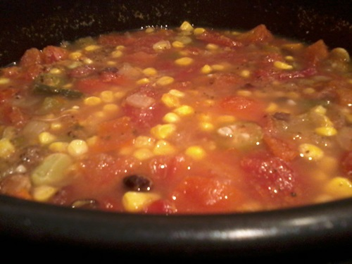 hearty vegetarian vegetable soup