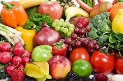 vegetarians eat fruits and vegetables